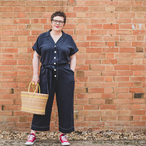 Sew me something Cressida Jumpsuit