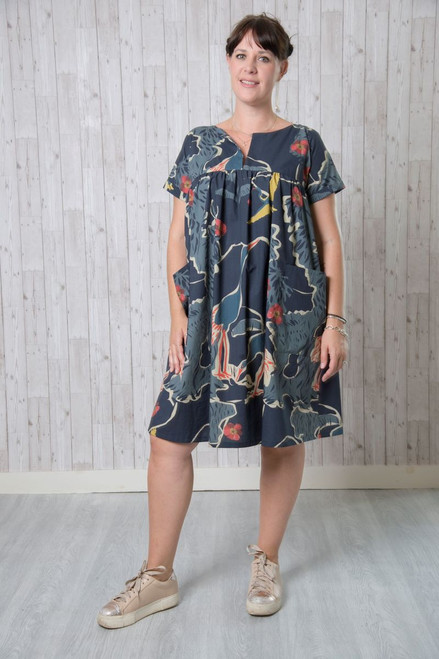 Frida Dress & Top Pattern by Emporia Patterns