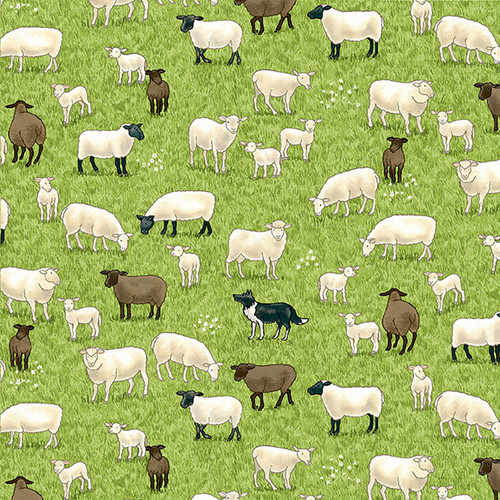 Village Life by Makower - Sheep