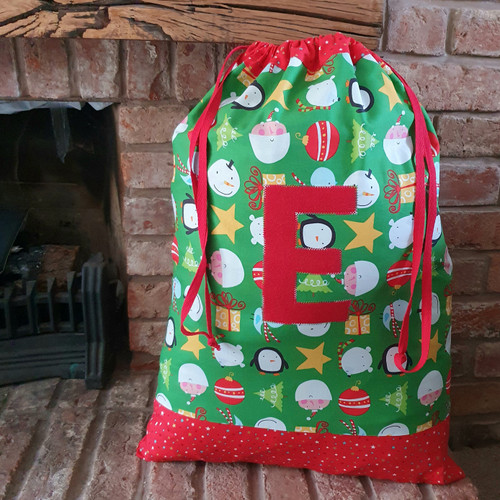 Mini make santa sack