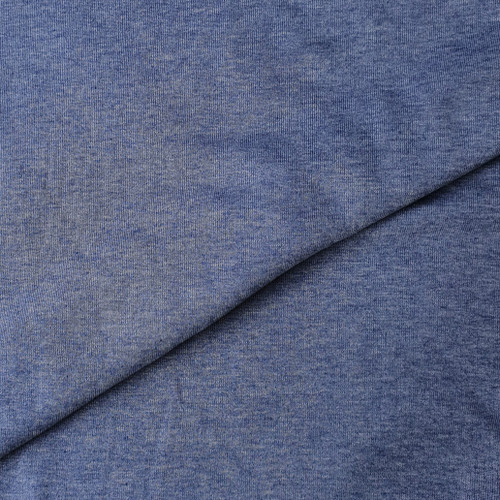 Melange sweat in Cobalt