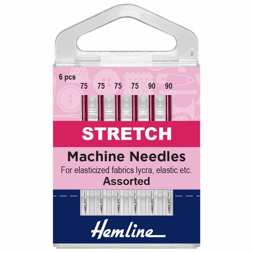 Hemline stretch needles