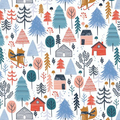 Dashwood Studio Fabric Snow Much Fun