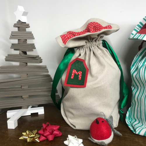 FREE Christmas Gift Bag Project The Sewing Cafe Leicestershire