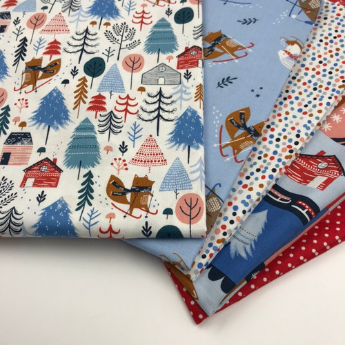 Dashwood Snow Much Fun Fat Quarter Bundle