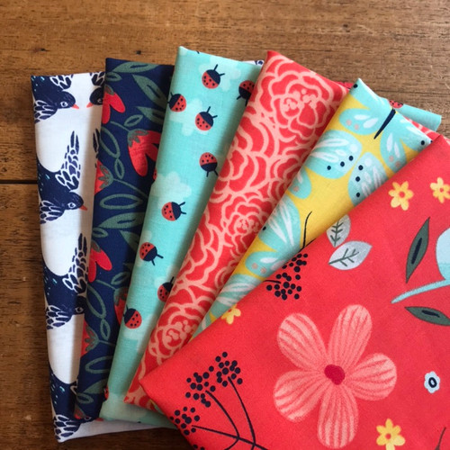 Maddison by 3 Wishes Fat Quarter Bundle