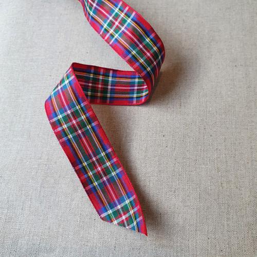Tartan Ribbon 25mm - Royal Stewart