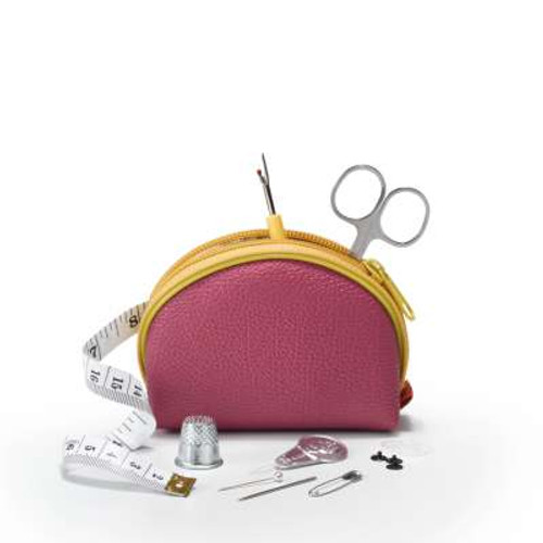 Prym Travel Sewing Set in Pink