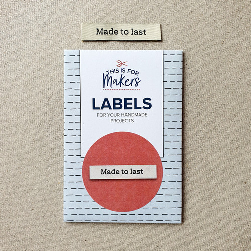 This is for makers woven labels