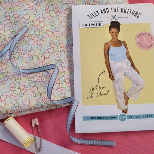 Pyjama Shorts Dressmaking Kit
