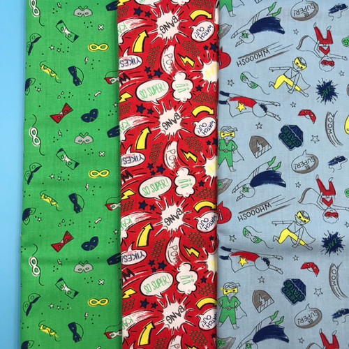 SALE Half Pint Heros - Half Metre Bundle x 3