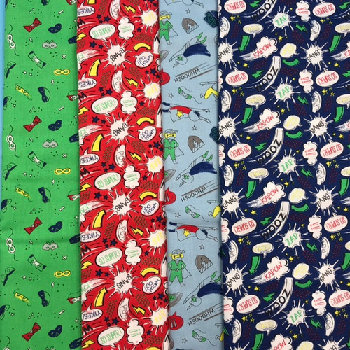 SALE Half Pint Heros - Half Metre Bundle x 4