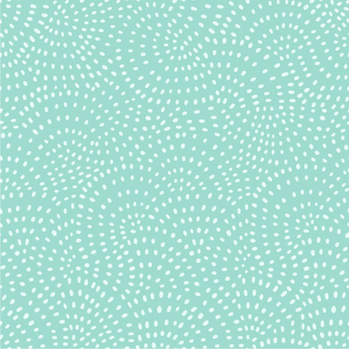 Twist Spot Cotton Fabric in Mint