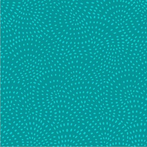 Twist Spot Cotton Fabric in Virdian
