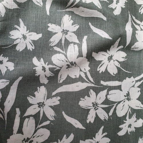 Wildflower Linen Viscose in Sage