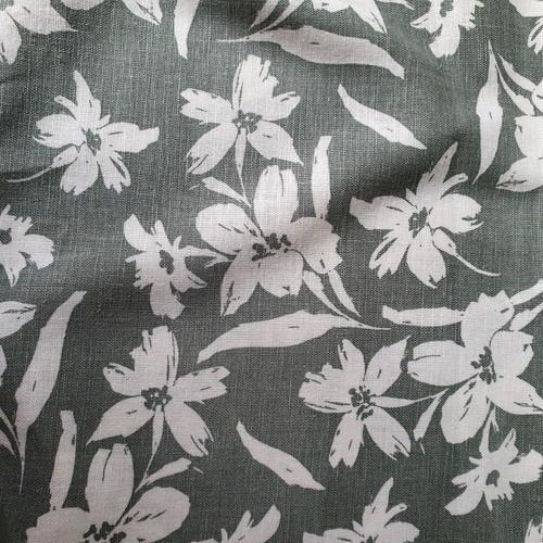Wildflower Linen Viscose in Sage