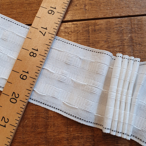 """Curtain Tape 75mm (3"""") wide"""