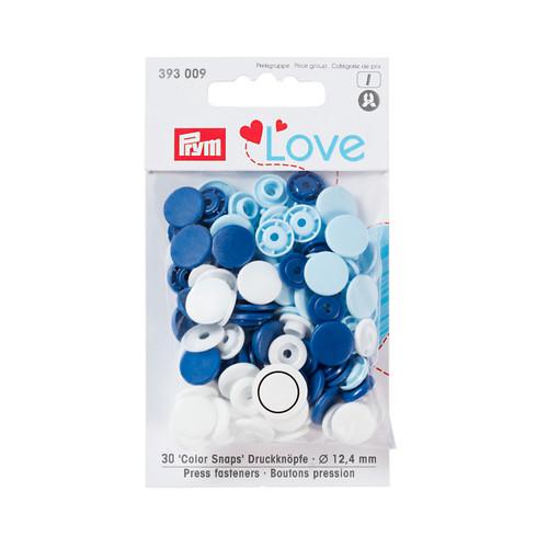 Prym color snap blue