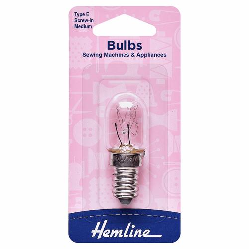 Sewing Machine Bulb Screw-In