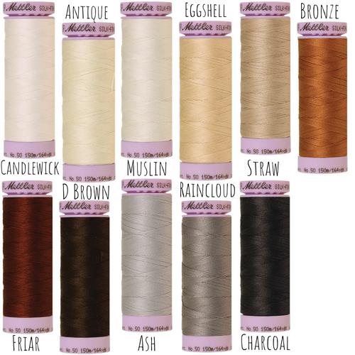 Mettler silk-finish cotton thread