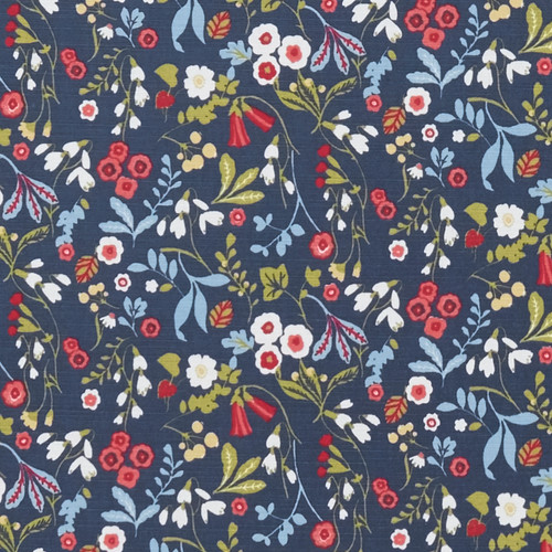 Oilcloth - Ashbee in Rouge