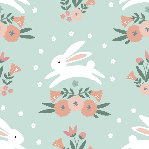 Fabric Editions - Spring Bunny - Bunny Hop