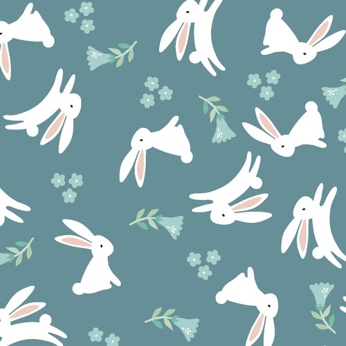 Fabric Editions - Spring Bunny - Assorted Bunny