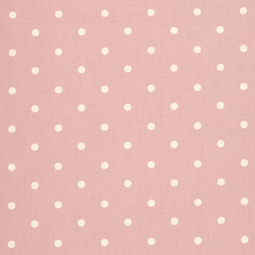 Oilcloth - Dotty in Rose