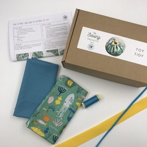 The Sewing Projects - Toy Tidy