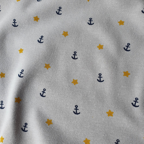 Sea Pirate Jersey in Light Grey