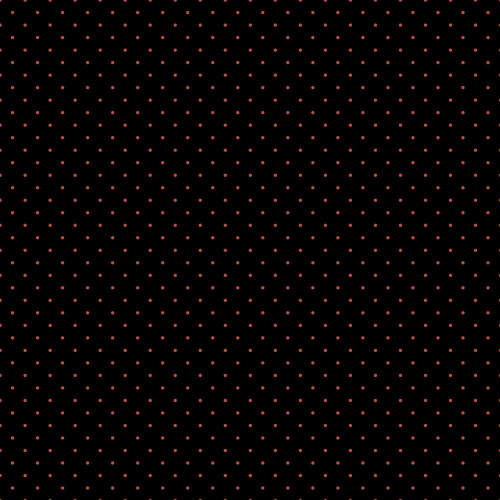 Dotty Jersey in Black and Coral