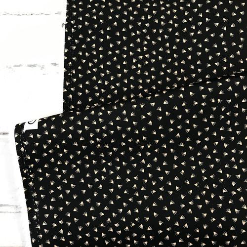 Flutter Cotton Stretch in Black