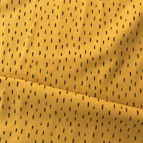 Playful Stripes Jersey in Ochre