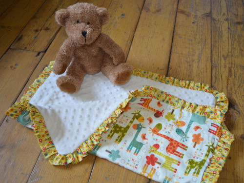 Super Cute Cuddle Blanket at The Sewing Cafe - Sewing workshop