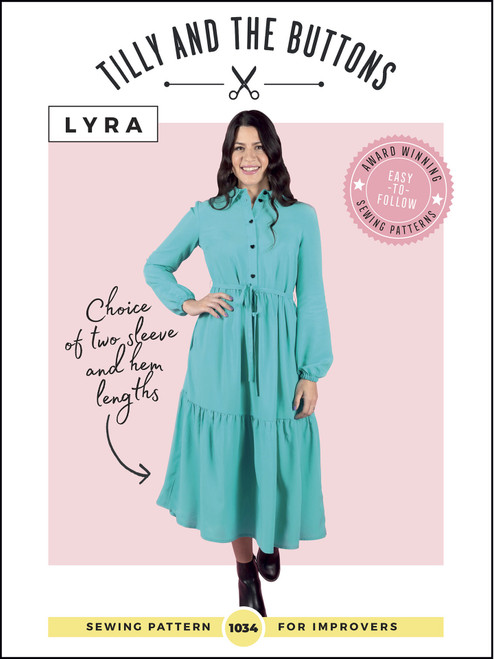Lyra Shirt Dress Pattern