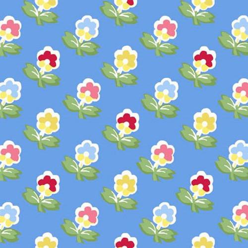 Cottage Blooms - Garden in Blue