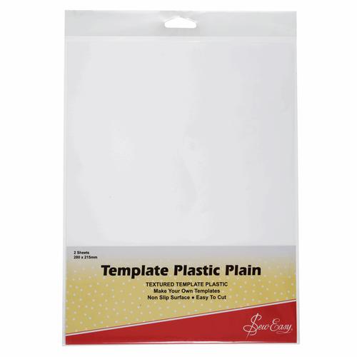 Textured Template Plastic