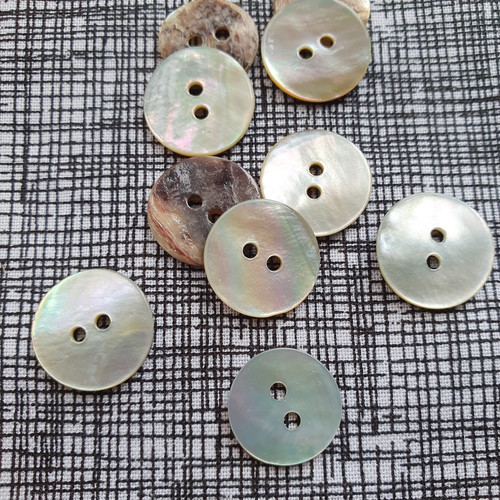 Shell Button 15mm