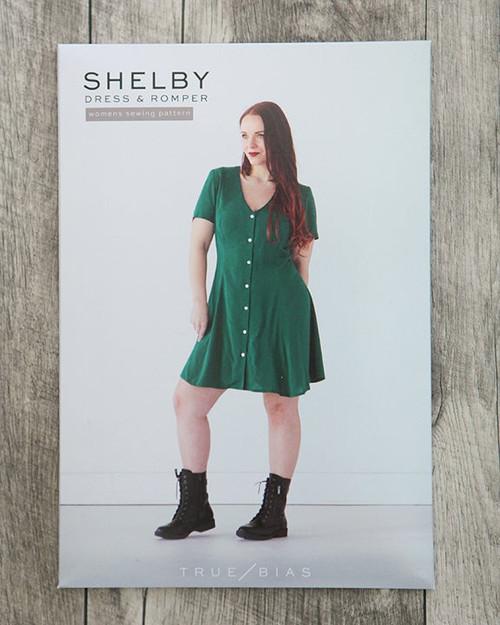Shelby Dress/Romper Sewing Pattern by True Bias