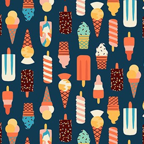 Figo Simple Pleasures- Ice-creams in Navy