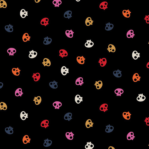 Full Moon by Dashwood - Skulls in Multi - Quilt Cotton Fabric