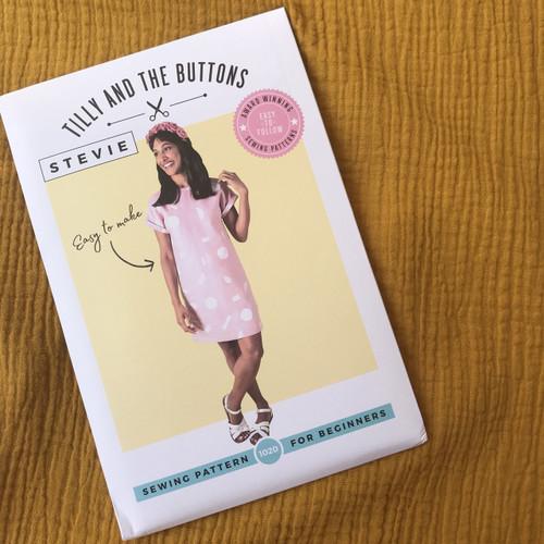 Stevie Top Dressmaking Kit in Ochre (Size UK6-UK14)