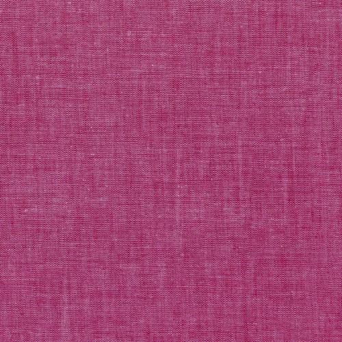 Yarn Dyed Cotton Poplin in Berry