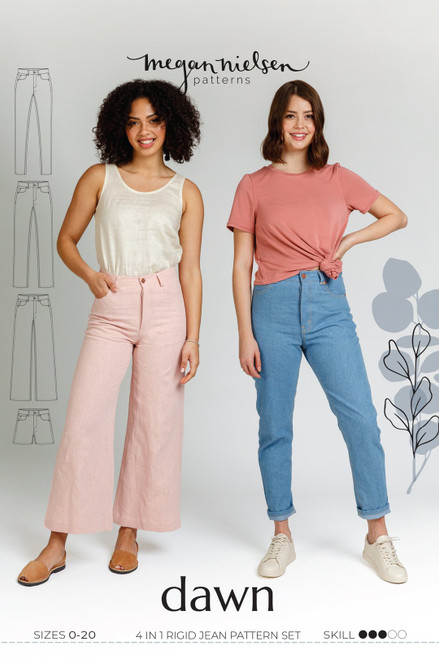 Dawn 4 in 1 Jeans & Shorts Pattern