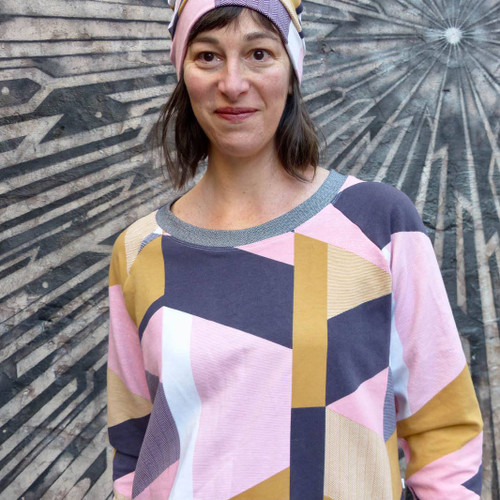 Boxy Raglan Sweater Pattern