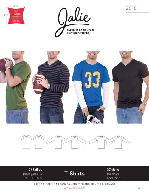 Jalie T-shirts Men & Boys Pattern