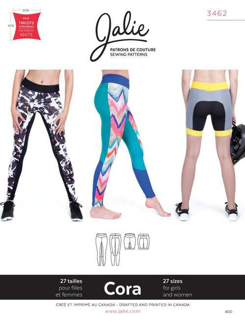 Cora Leggings/Shorts Women & Girls Pattern