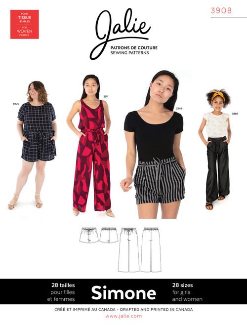 Simone Trouser & Shorts Women & Girls Pattern