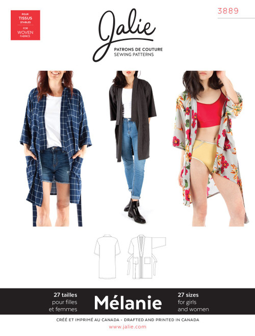 Melanie Robe Women & Girls Pattern