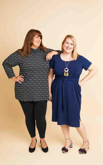 Pembroke Dress & Tunic Pattern Size 12-32  Cup C-H
